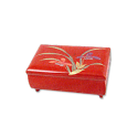 31301 - Lacquer Jewelry Box with Flowers