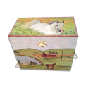 Hideaway Horse Musical Jewelry Box