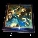 Blue Dancers by Degas