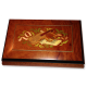 Instrument Inlay Jewelry Box with Key