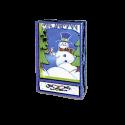 Dancing Snowman Shadow Box